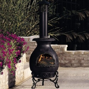 Arctic Cast Iron Stack Style Chimenea