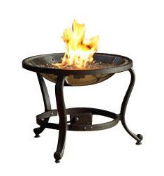 The Outdoor GreatRoom Company Crystal Fire Burner with Tripod