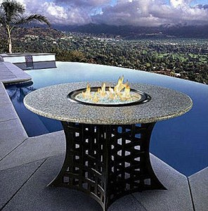 La Costa Gas Fire Pit Table