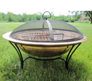 "Unique Arts Solid Copper 30"" Fire Pit"