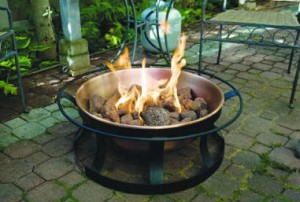 Camp Chef Del Rio Copper Gas Fire Pit