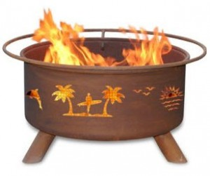 Patina Products F117, 30 Inch Pacific Coast Fire Pit
