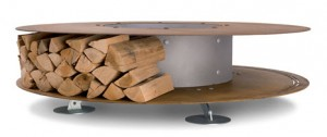 Ak47 Zero Fireplace Log Storage