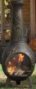 Dragonfly Chiminea by Blue Rooster